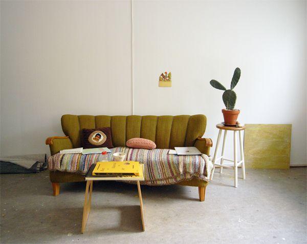 Camilla Engman: Back in my new studio