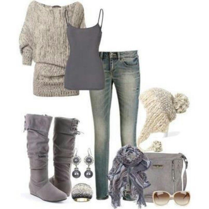 Love The Grey Boots Clothes Pinterest Gray Boots Favorite