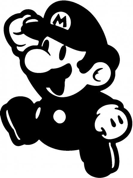 Mario simple PNG Picture.