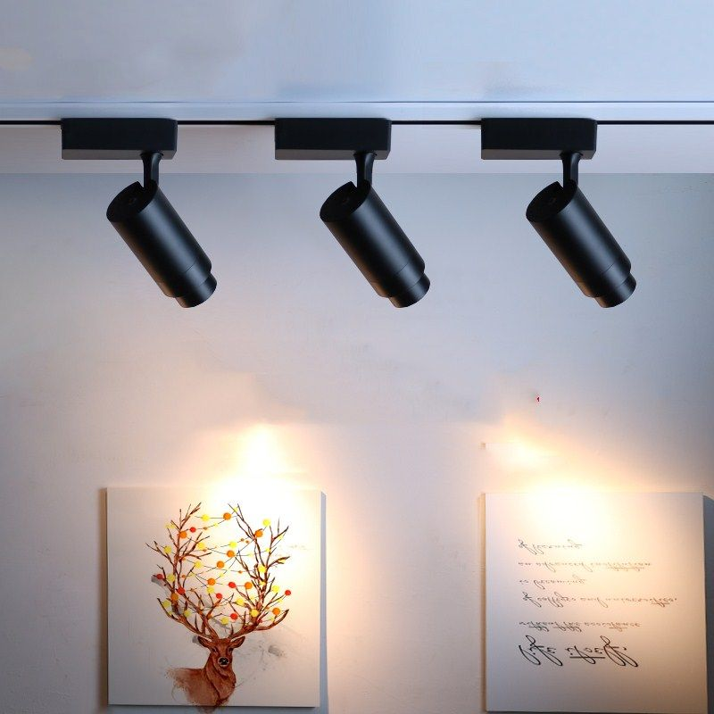 Find More Track Lighting Information About Cob Led Track Lights Beam Angle Adjustable Spot Lig Ceiling Lights Led Track Lighting Light Fixtures Bedroom Ceiling