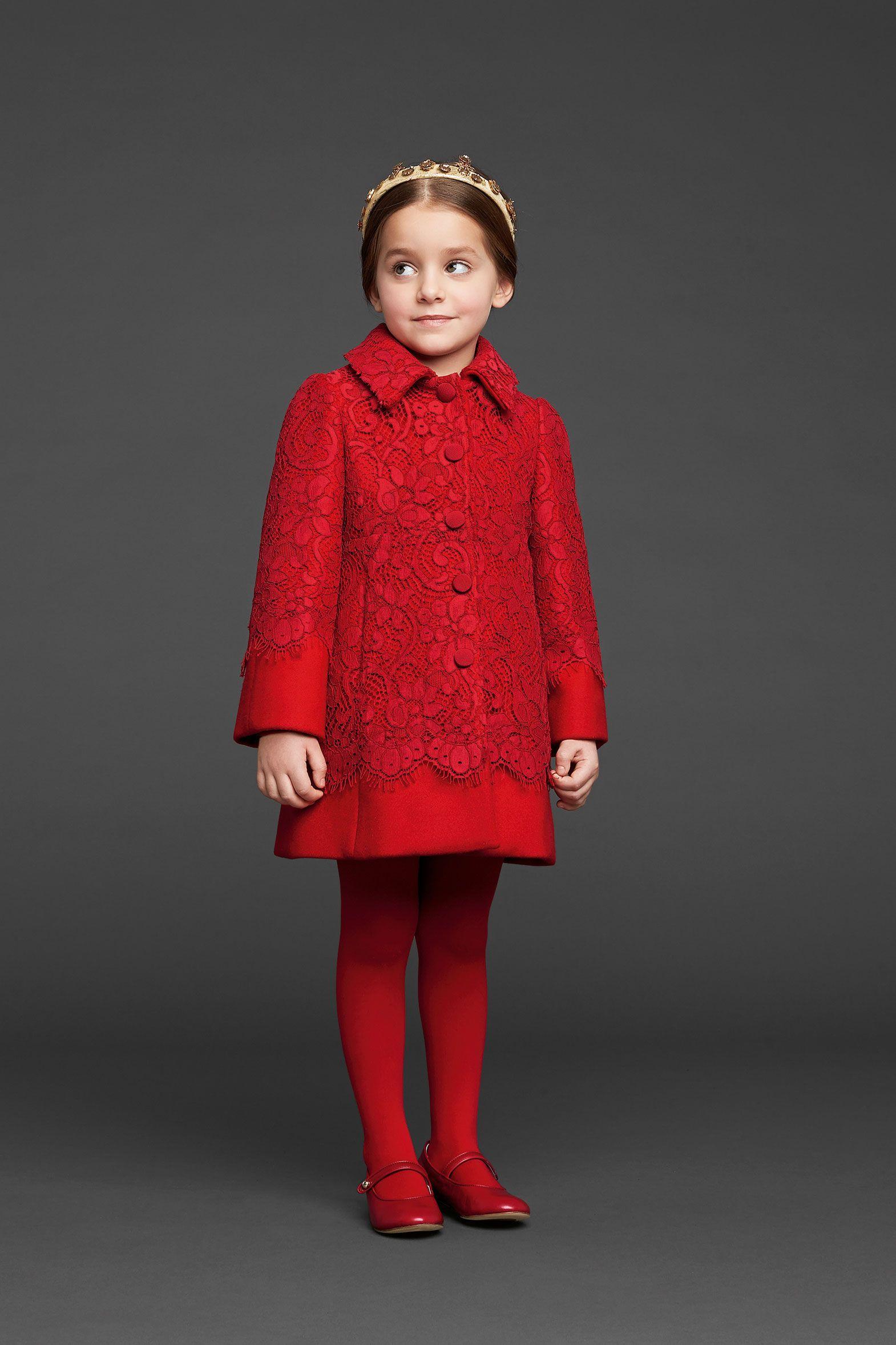 Dolce & Gabbana Kids Fall Winter 2013