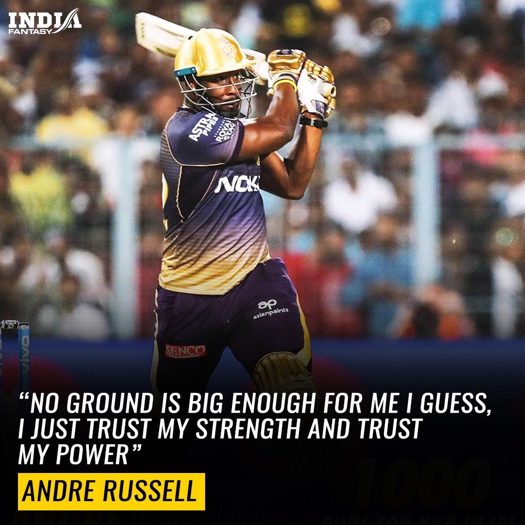 Andre Russell Power And Strength Cricket news, Cricket