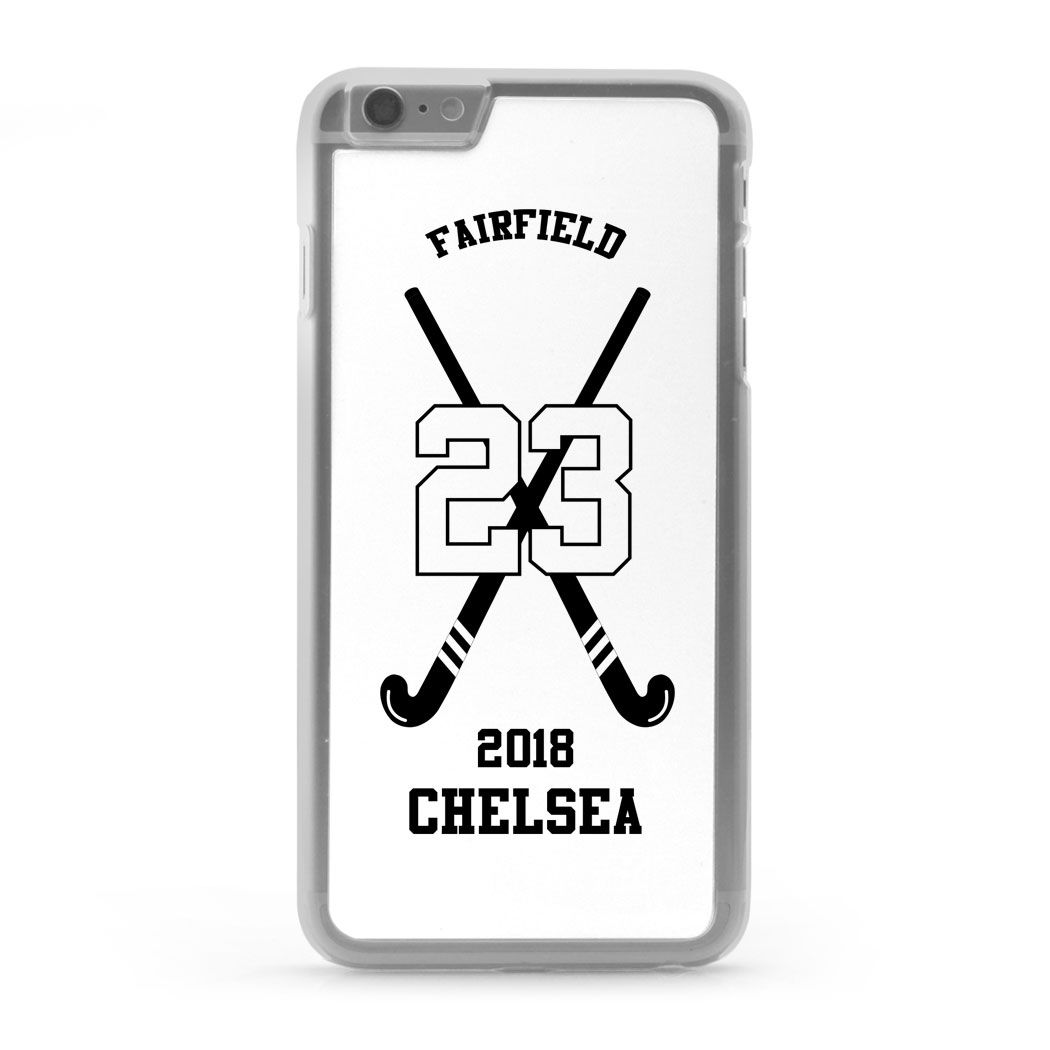 Field Hockey Iphone Case Personalized Team With Crossed Sticksa Iphone 6 Plus Field Hockey Phone Case Field Hockey Phone Cases Field Hockey Iphone Cases