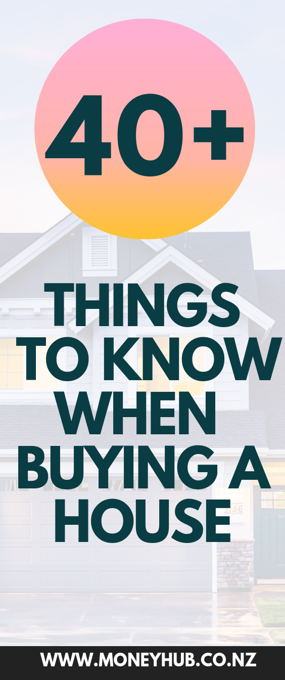 40 Things To Know When Buying A House First Home Buyer Things