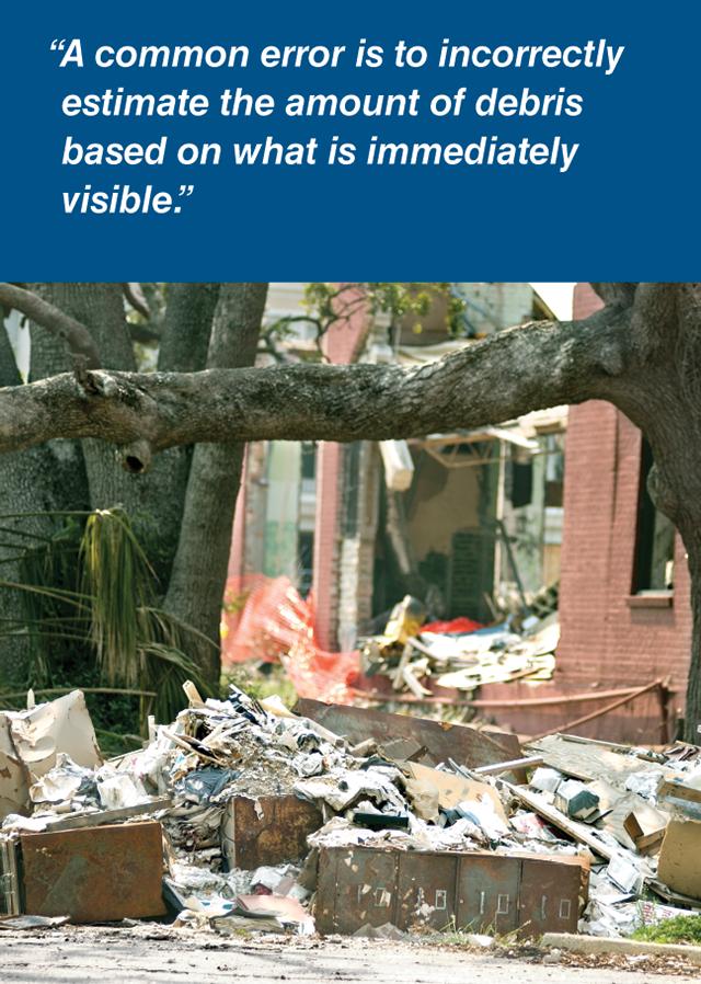 Three Categories Of Debris Removal Disaster Prep Disaster