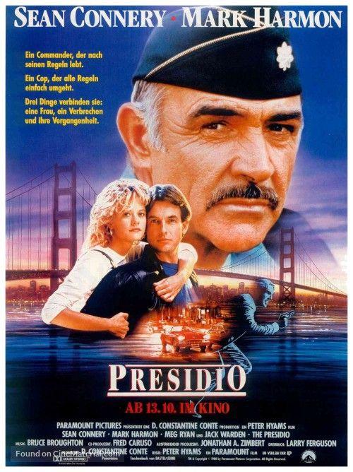 The Presidio German poster, 1988