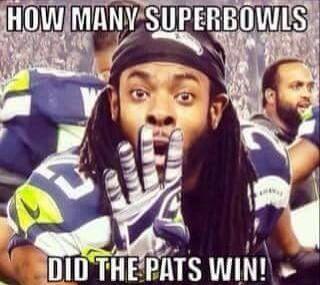 Haha. Sherman, you idiot