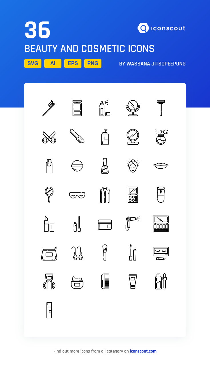 Download Beauty And Cosmetic Icon Pack Available In Svg Png Eps Ai Icon Fonts Instagram Symbols Icon Easy Doodle Art