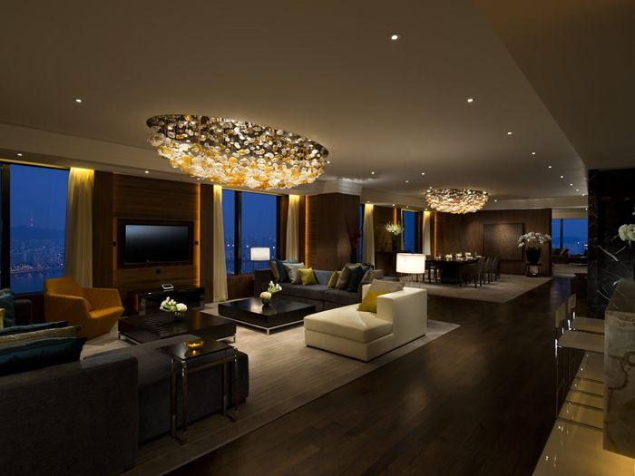 Conrad Seoul Hotel Korea Suite Living Room