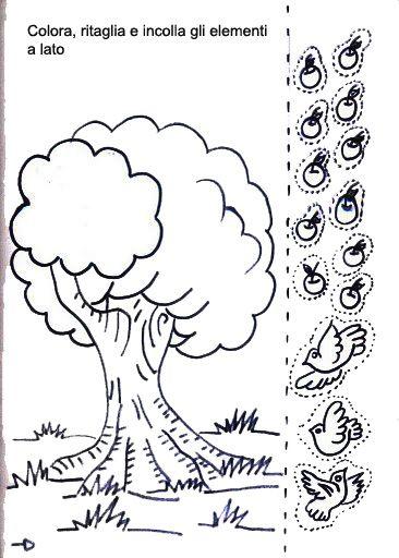 Disegni Di Animali Da Ritagliare E Incollare Per Bambini Pianetabambini It Disegnare Animali Disegni Di Pesci Illustrazione Animali