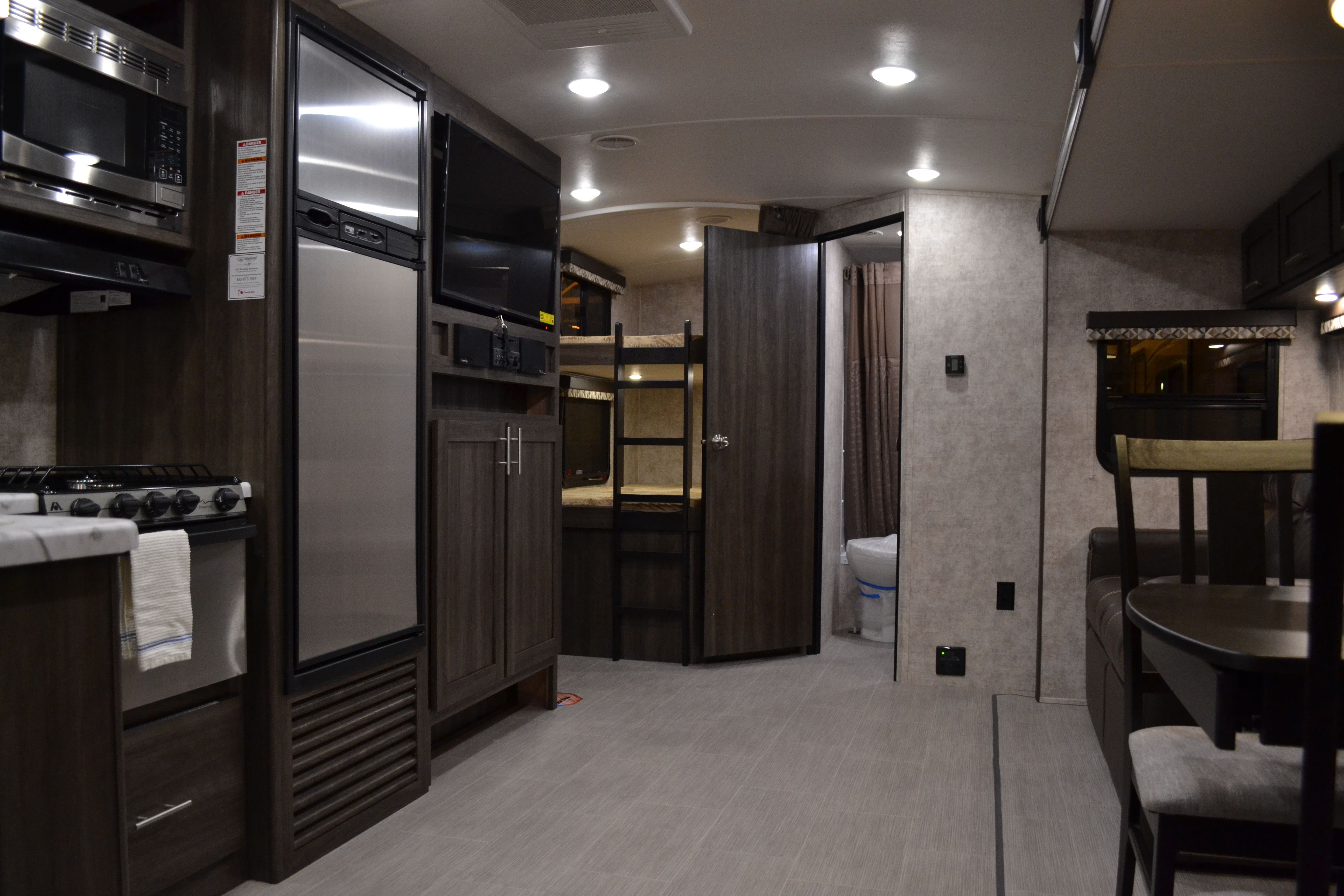 2017 Open Range Ultra Lite 2802bh Travel Trailer With Bunks And
