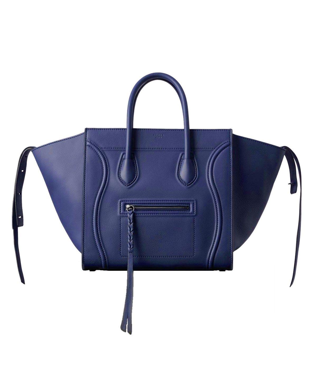 CELINE MEDIUM LUGGAGE PHANTOM HANDBAG INDIGO .  celine  bags  leather  hand  bags   30710ed73c170