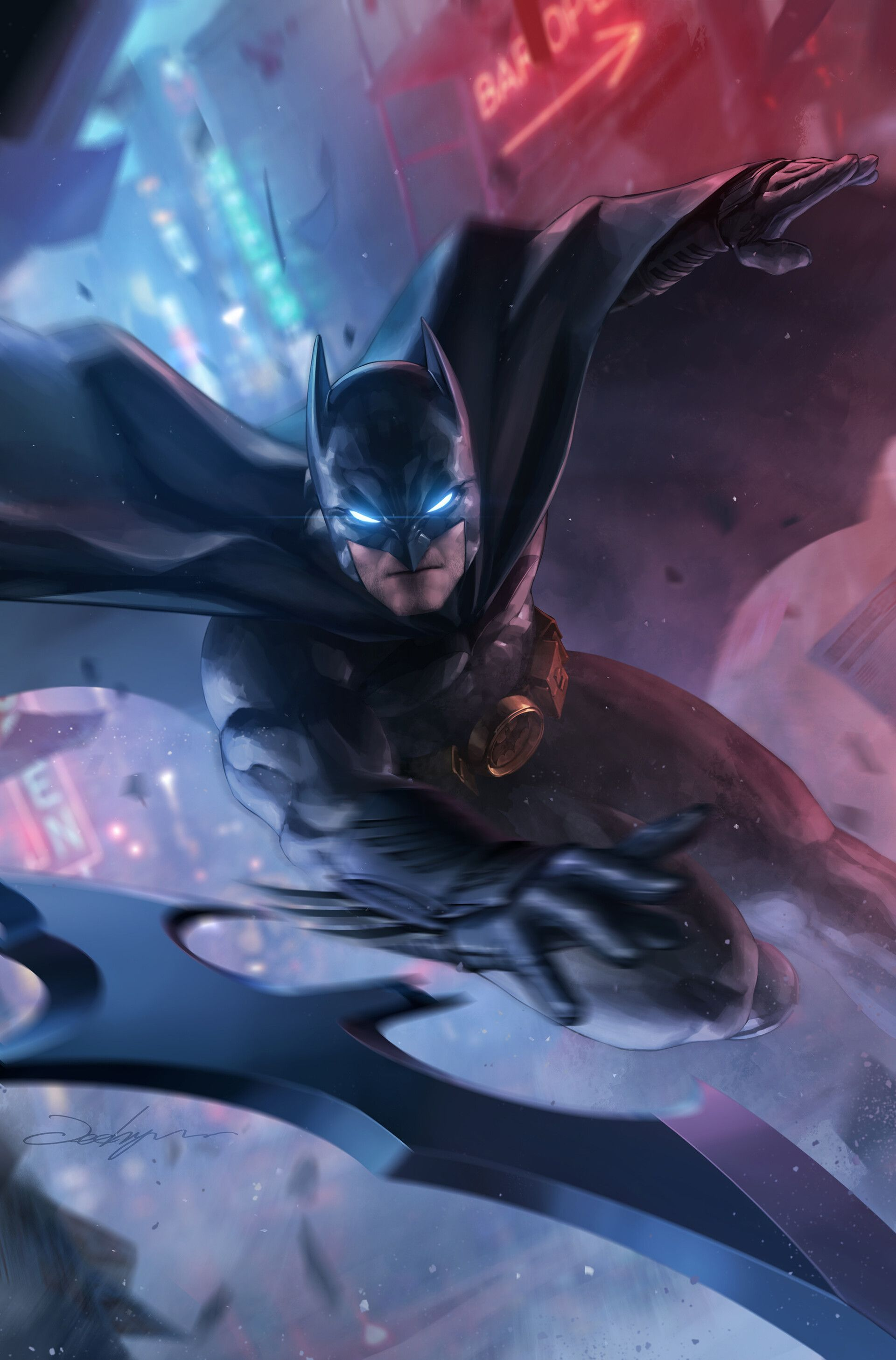 Dc Comics Comic Book Artwork Batman By Jee Hyung Lee Follow Us For More Awesome Comic Art Or Check Out Our Online St Batman Artwork Batman Comics