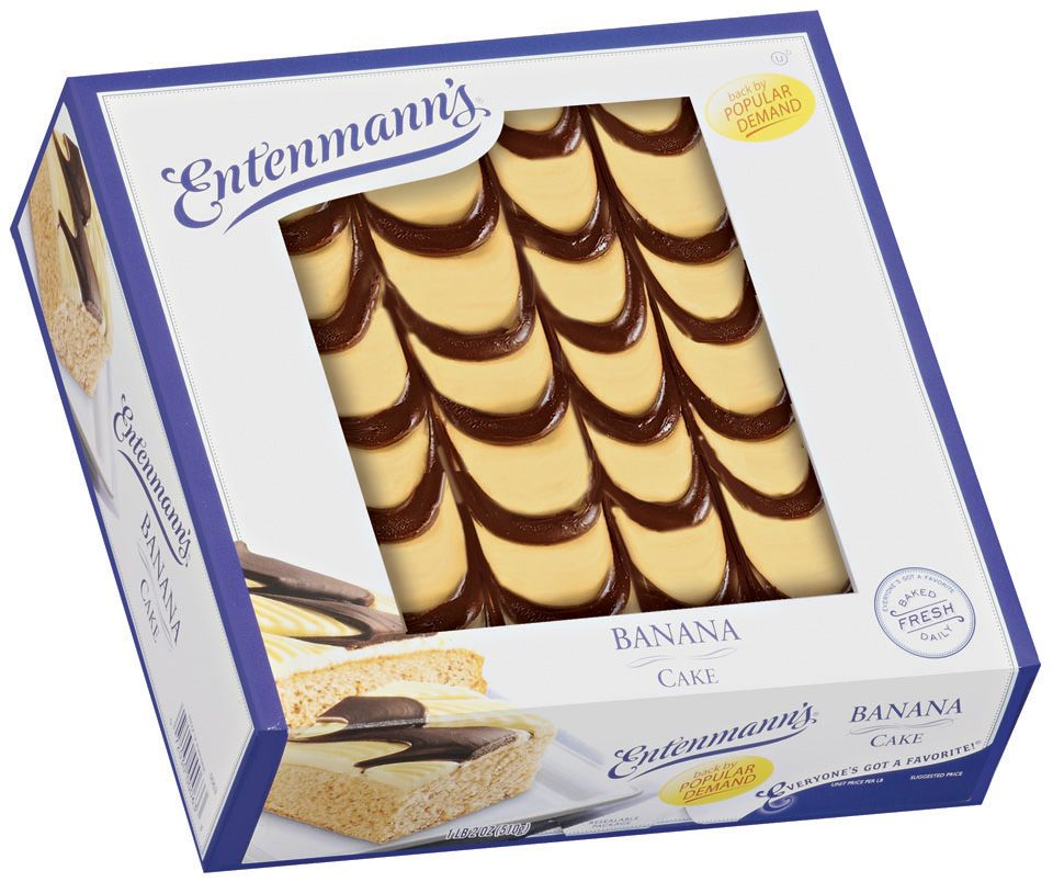 Are you bananas for entenmanns banana cake entenmanns