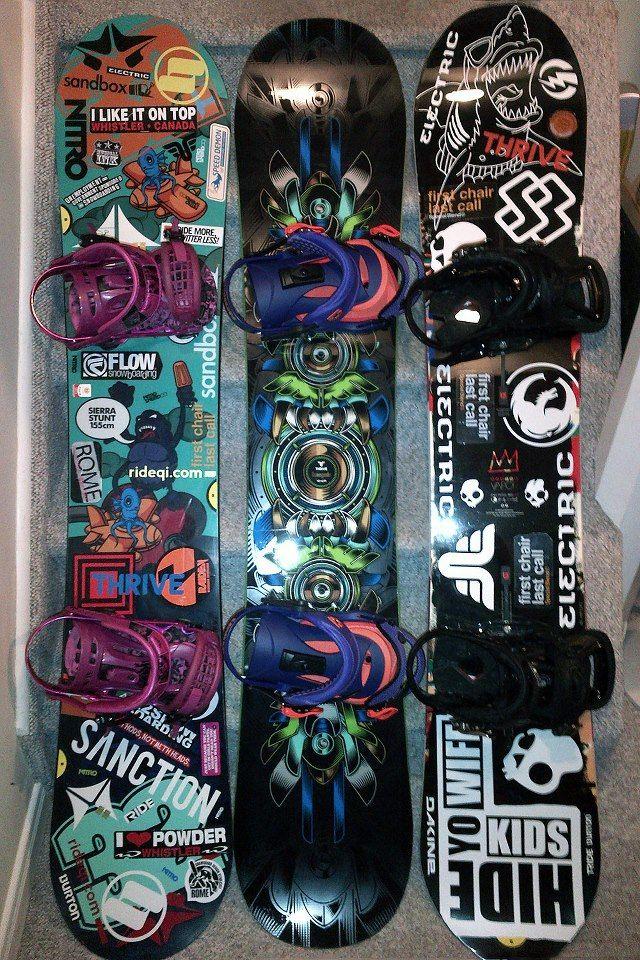 Snowboard Sticker Jobs