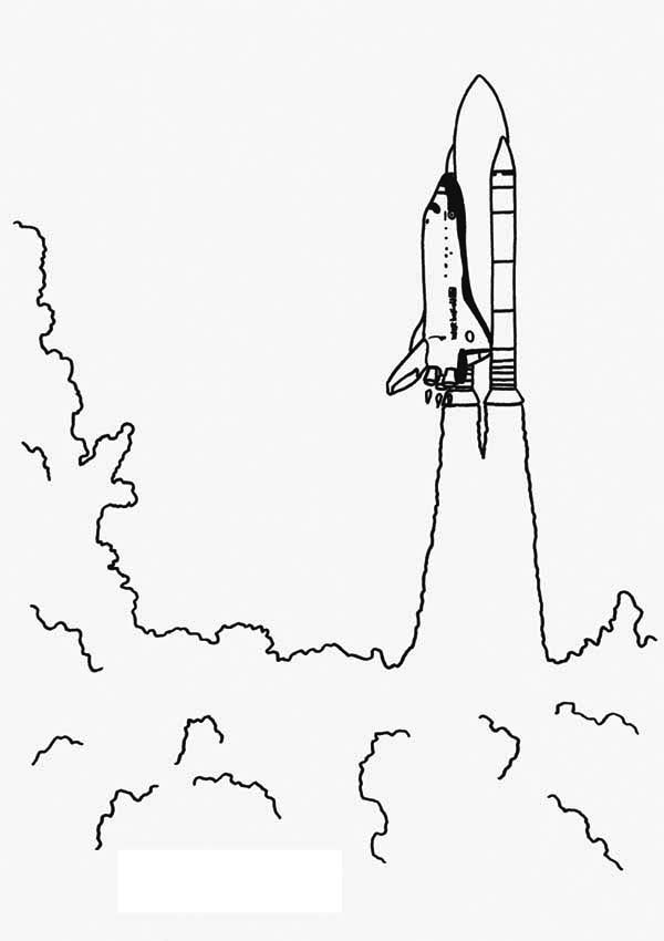 Extremely Huge Blast Rocket Launching Coloring Page Download Print Online Coloring Pages For Free Co Coloring Pages Online Coloring Pages Online Coloring
