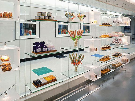 Cable Rod Suspended Shelf Display Kits With Acrylic And Glass