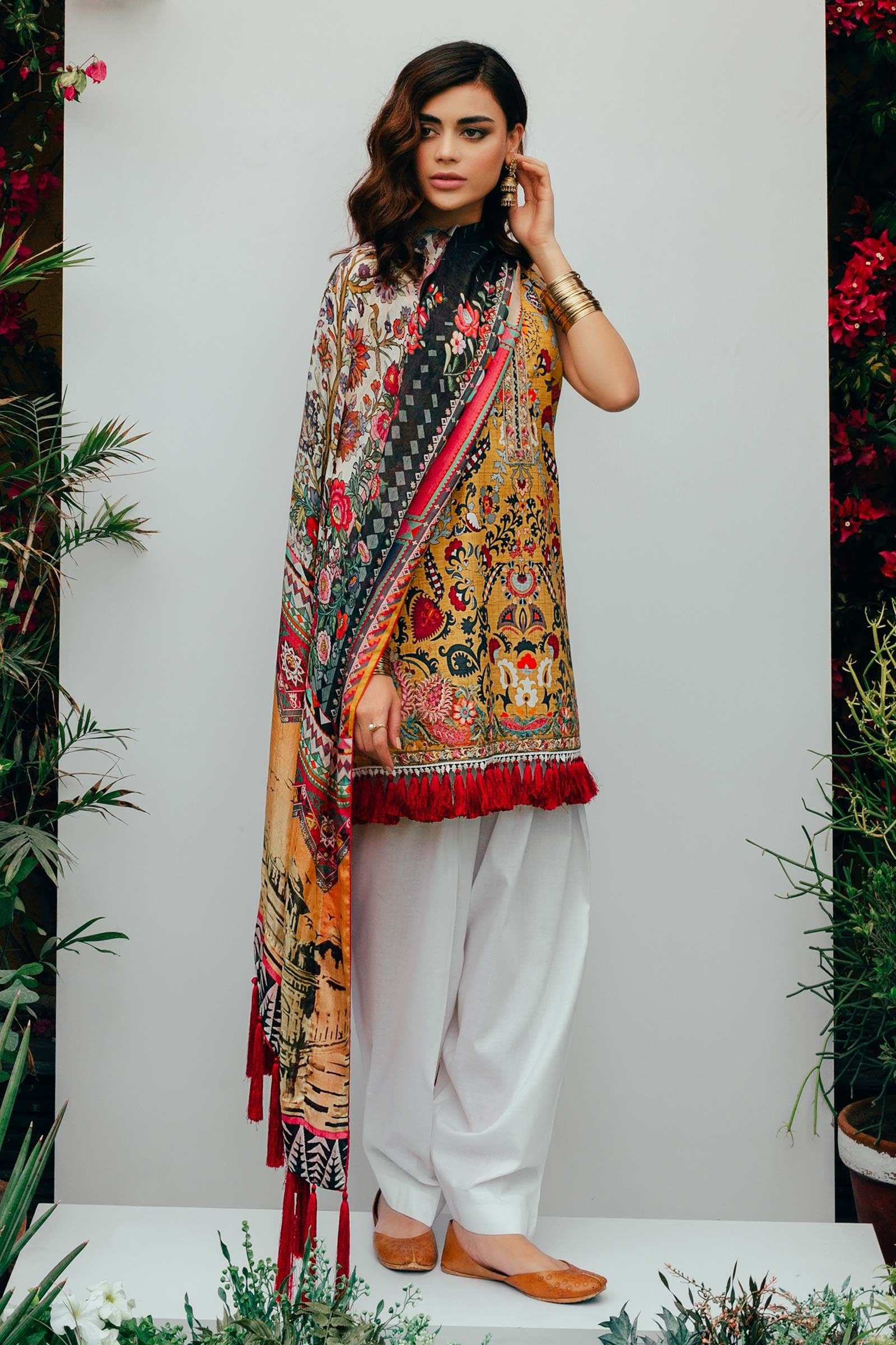 7cb13406ea Shalwar kameez | Pakistani fashion in 2019 | Pakistani dresses ...