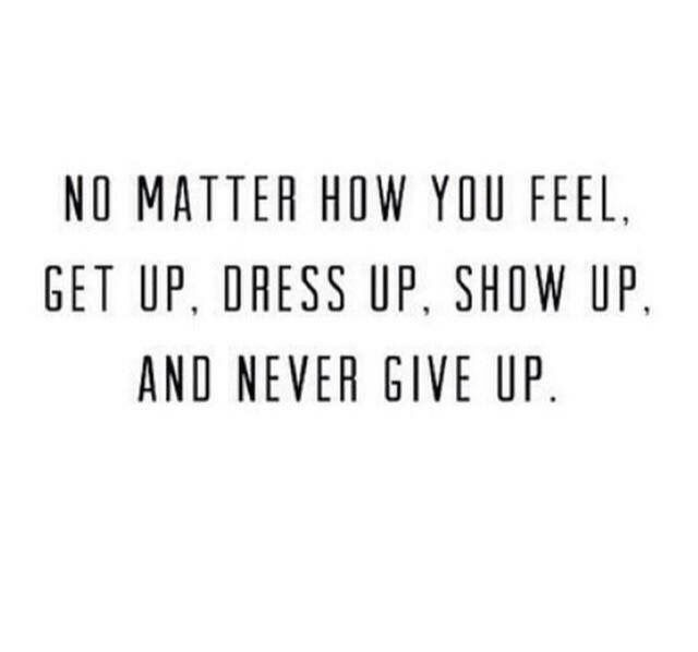 This is so true, motivation!! Get up and live your dreams, don't forget to smile :)