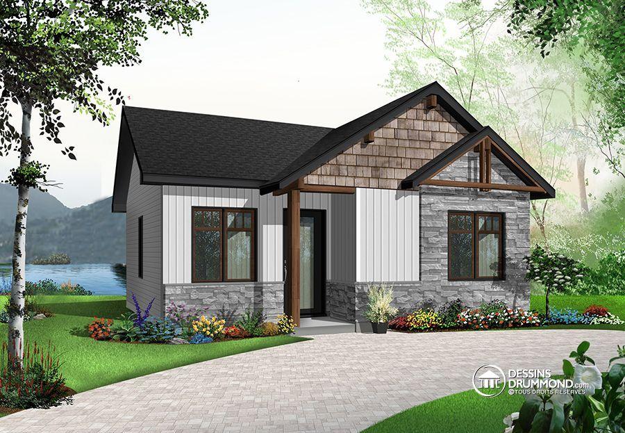 Détail du plan de Maison unifamiliale W1704 Dream house
