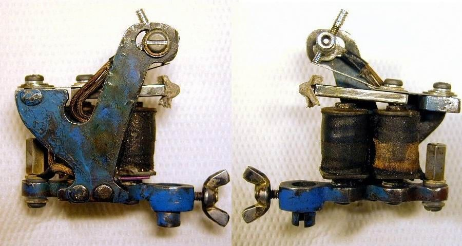 Tattoo Machine Bbb Blue J Frame With Images Tattoo Machine Tattoo Shop Tattoos