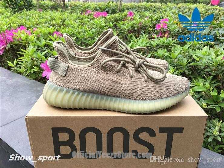 70fd597689534 Adidas Yeezy 350 Boost V2 Dark Green DA9572 Sply 350 Men Women Running Shoes  Sport Yezzy
