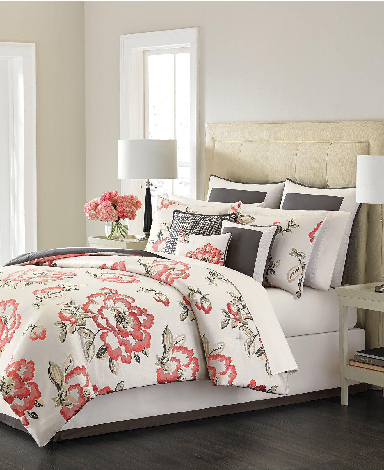 Attractive Martha Stewart Collection Peony Blossom 9 Piece Bedding Sets, Only At  Macyu0027s   Bed In A Bag   Bed U0026 Bath   Macyu0027s