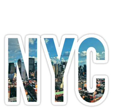 New York City Stickers By Smashdesigns Redbubble Digital Sticker Computer Sticker Unique Sticker
