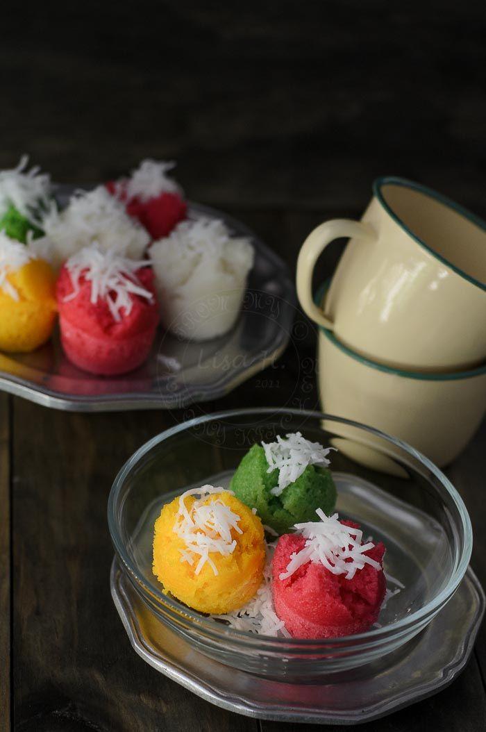 Gluten-Free Steamed Rice Cupcakes / Apam Beras recipe ...