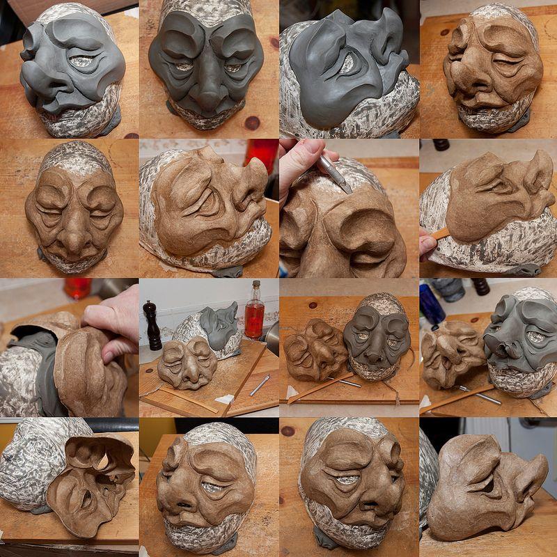 Daily Sculptors Group Page Paper Mache Paper Mache Sculpture