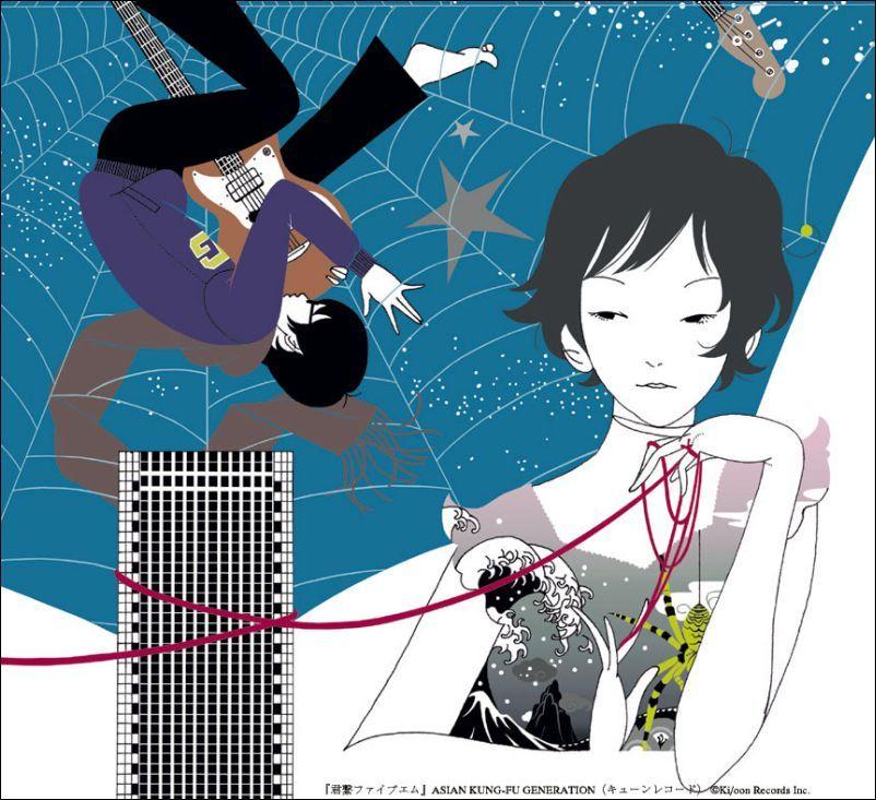 Yusuke Nakamura Album cover art, Anime, Kung fu