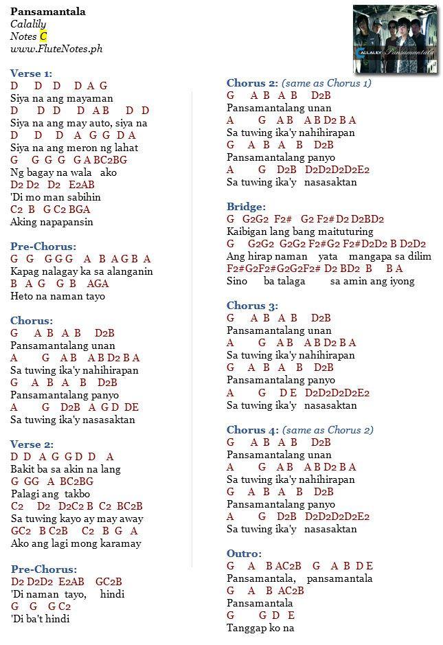 Guitar Chords Pansamantala