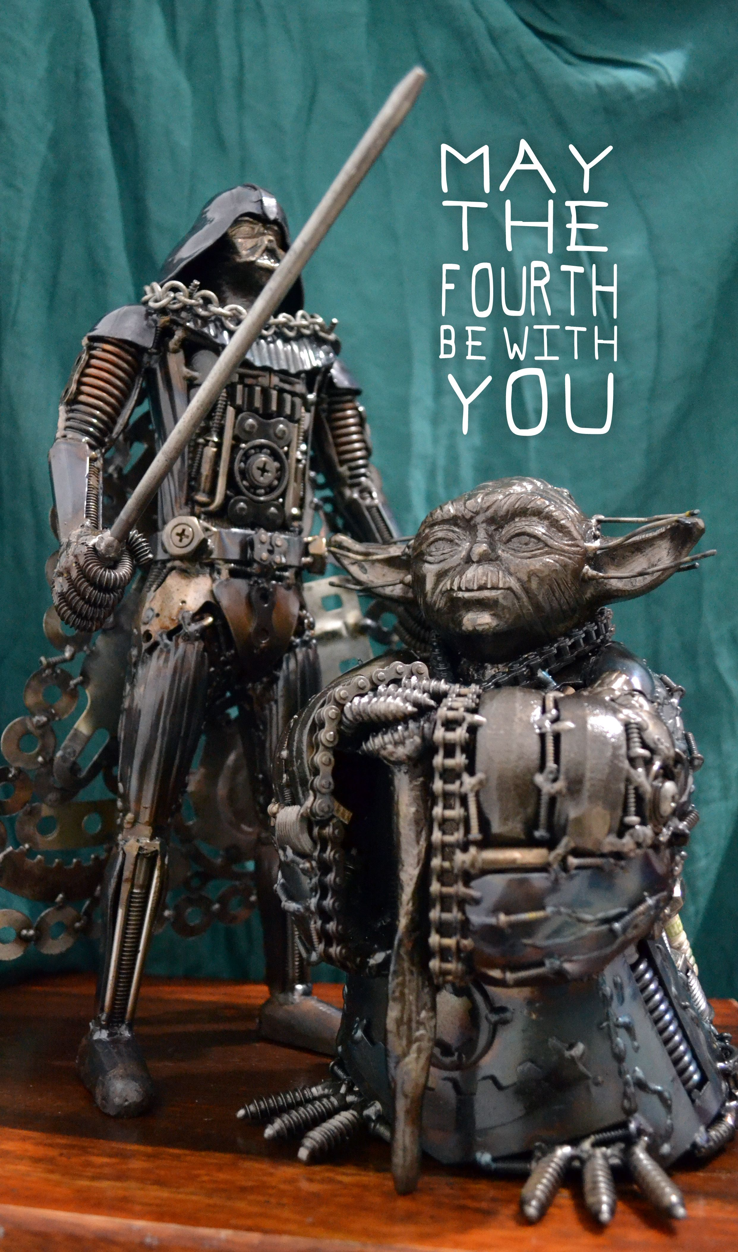 Greetings From Heavy Metal Vader And Yoda Heavy Metal Star And