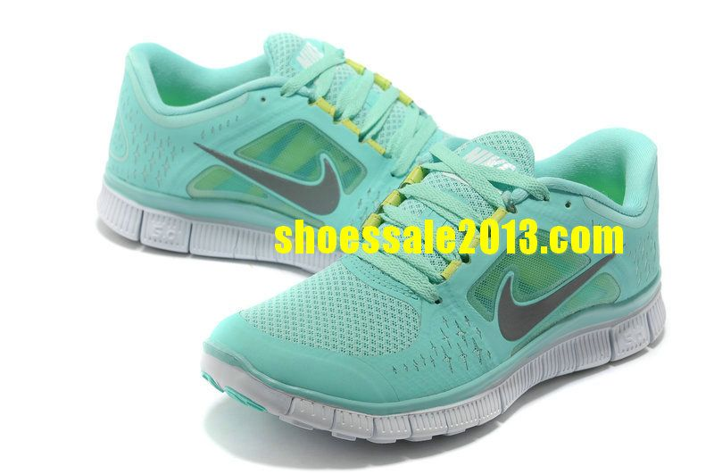 6dff8ec3debd Nike Free Run 3 Womens Size 9 Mint Green Volt Silver Nike Free Shoes 2014 Nike  Free Run 2