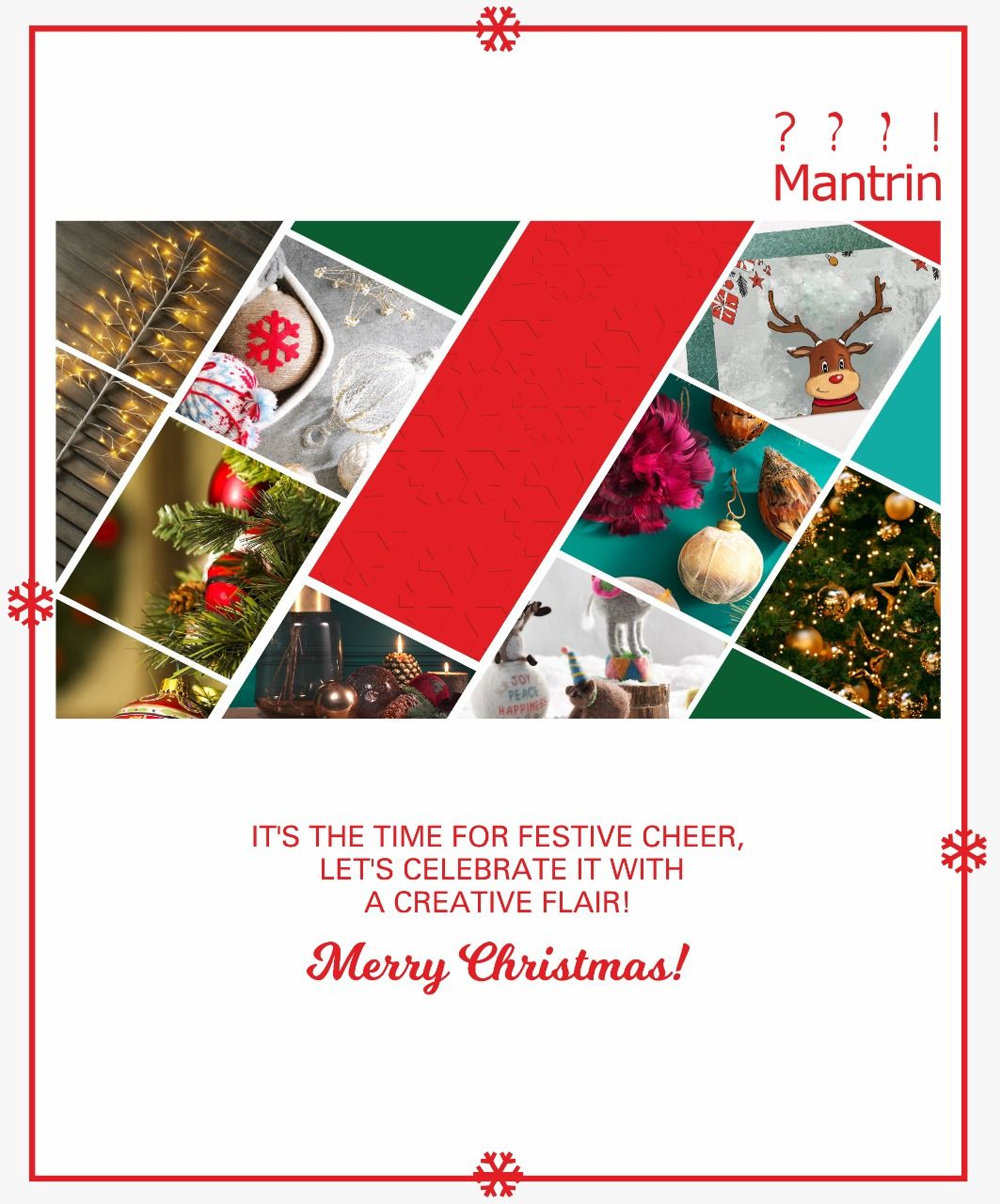 MerryChristmas Creative advertising, Web development