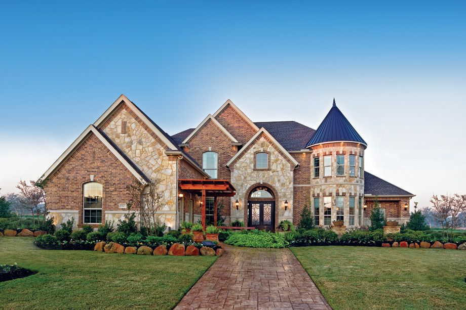 Town Lake at Flower Mound Luxury homes, Model homes, New