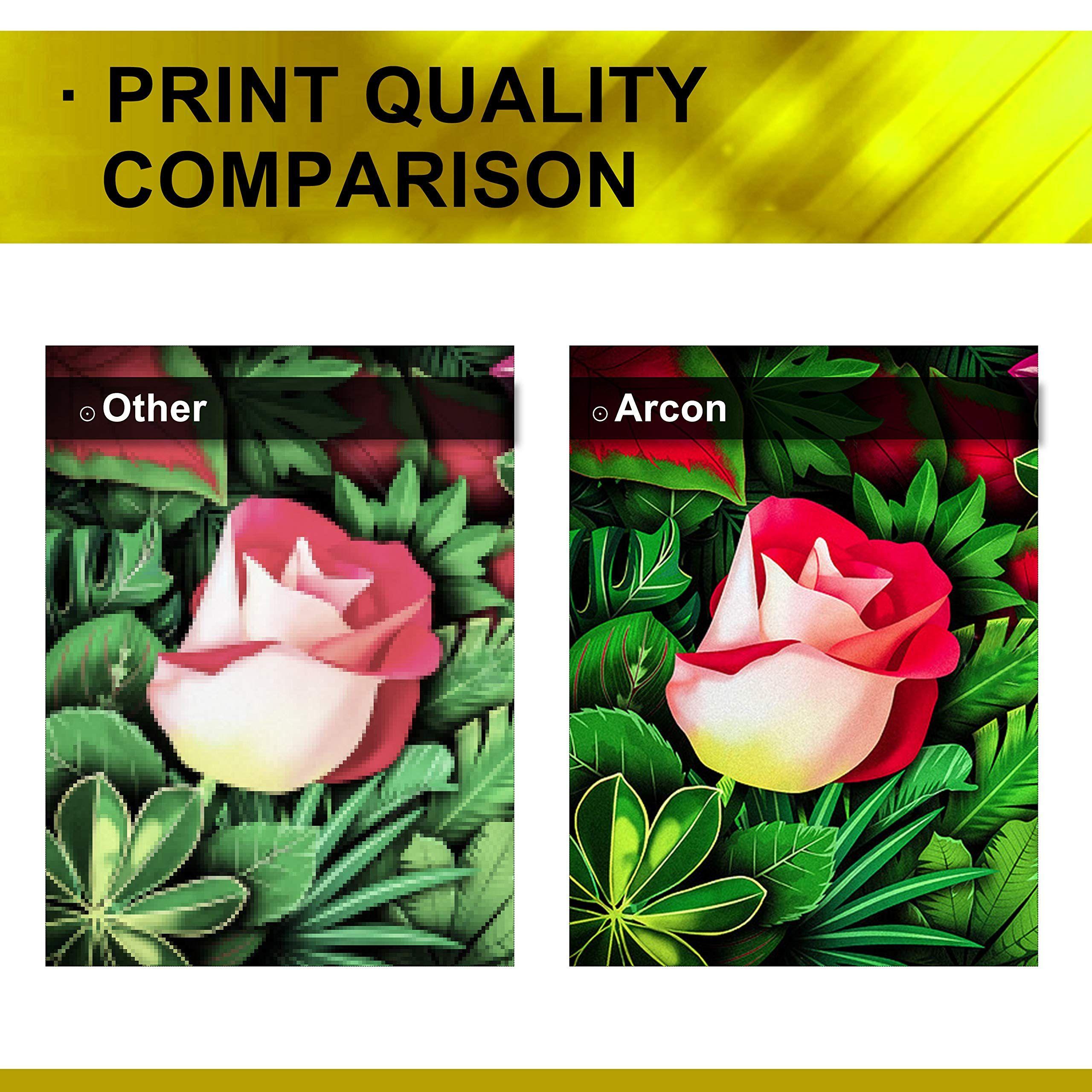 Arcon 4 Pack Compatible For Hp 410a Cf410a Hp 410x Cf410x Toner Cartridge Hp Color Laserjet Pro Mfp M477fnw M477fdn M477fdw M477 M452dn Print Quality Print Art
