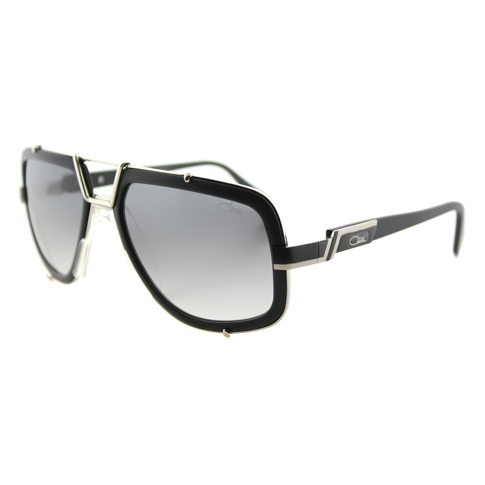 a26d32274c7 Separate yourself from the crowd with these angular aviator sunglasses. A  unique black frame with