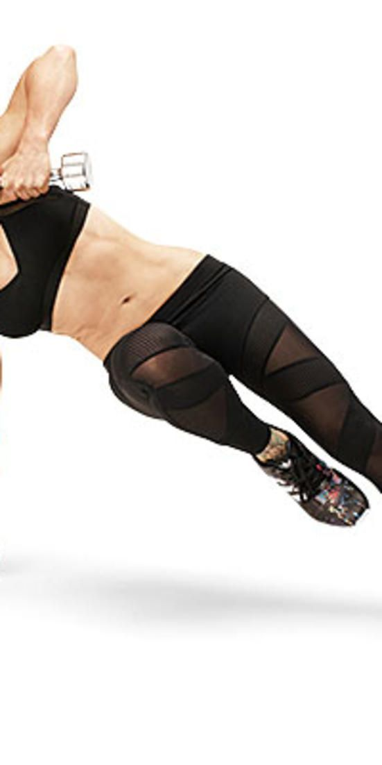 Jillian Michaels' fat-blasting circuit workout  - Transform your body in 4 weeks with this calorie-torching exercise series.