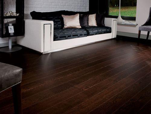 Oak Dark Chocolate Traditional Wood Flooring Engineered Wood