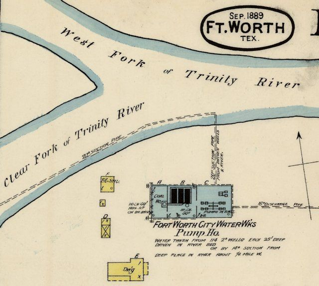 "In 1882 the city built a waterworks and a modest network of fire plugs, mains, and pipes to homes and businesses. The waterworks was located at the confluence of the Clear and West forks and pumped water from both the river and from wells drilled in the river channel. | From In Search of ""Just Right"": Goldilocks and the Six Lakes (Part 1) 