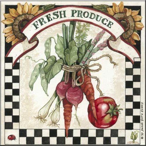 Fresh Produce Sandi Gore Evans Tile Murals Fresh
