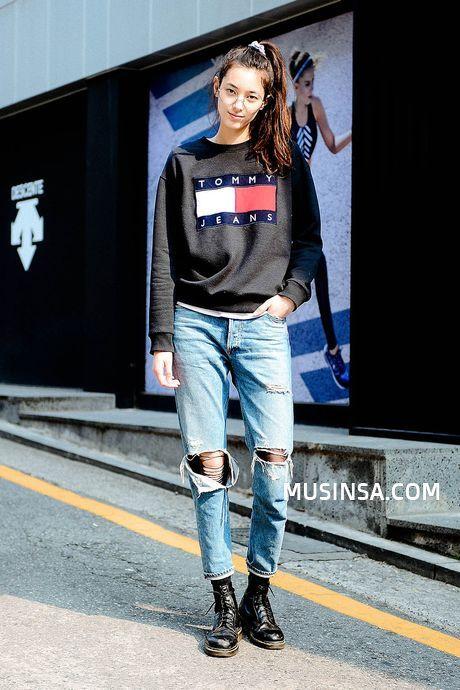 Korean Street Fashion Official Korean Fashion Blue Women 39 S Outfits Pinterest Korean