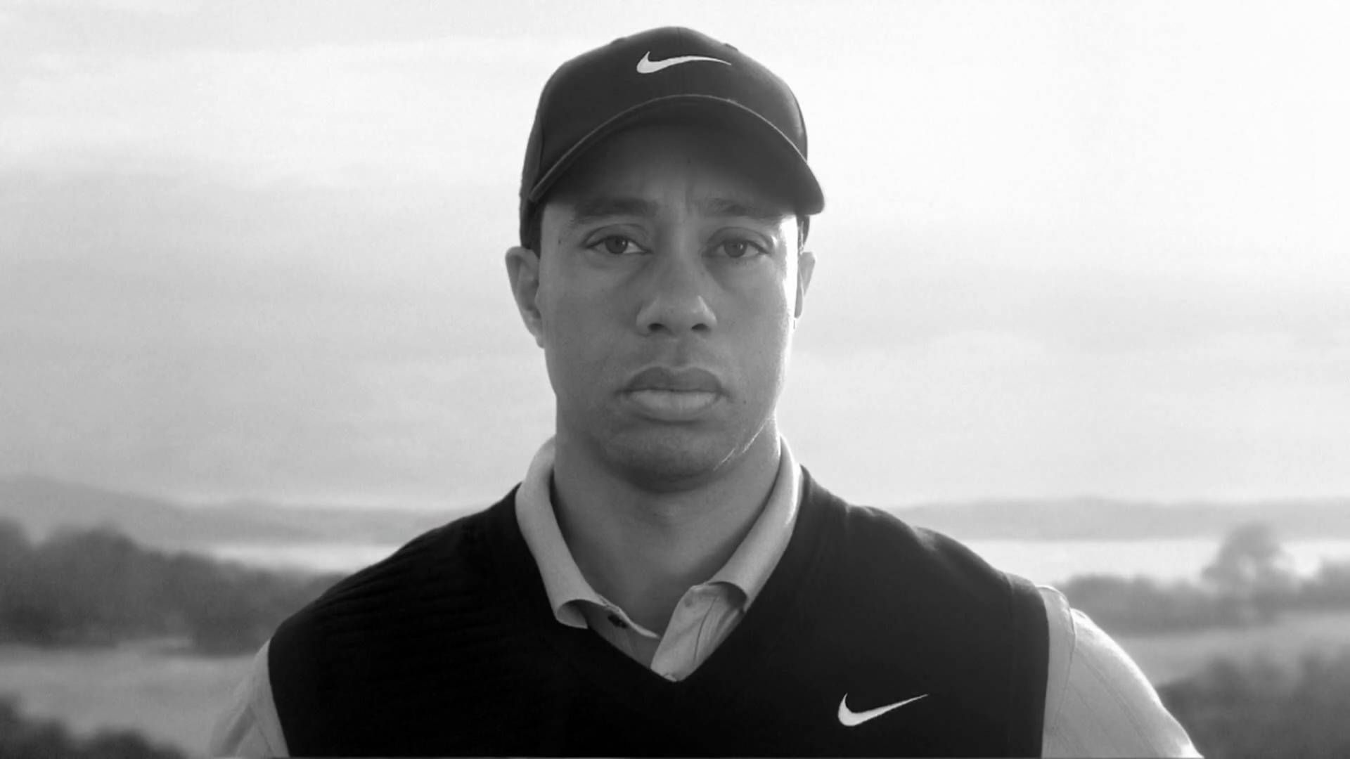 Earl asks his son Tiger a few questions before Tiger's return to golf.