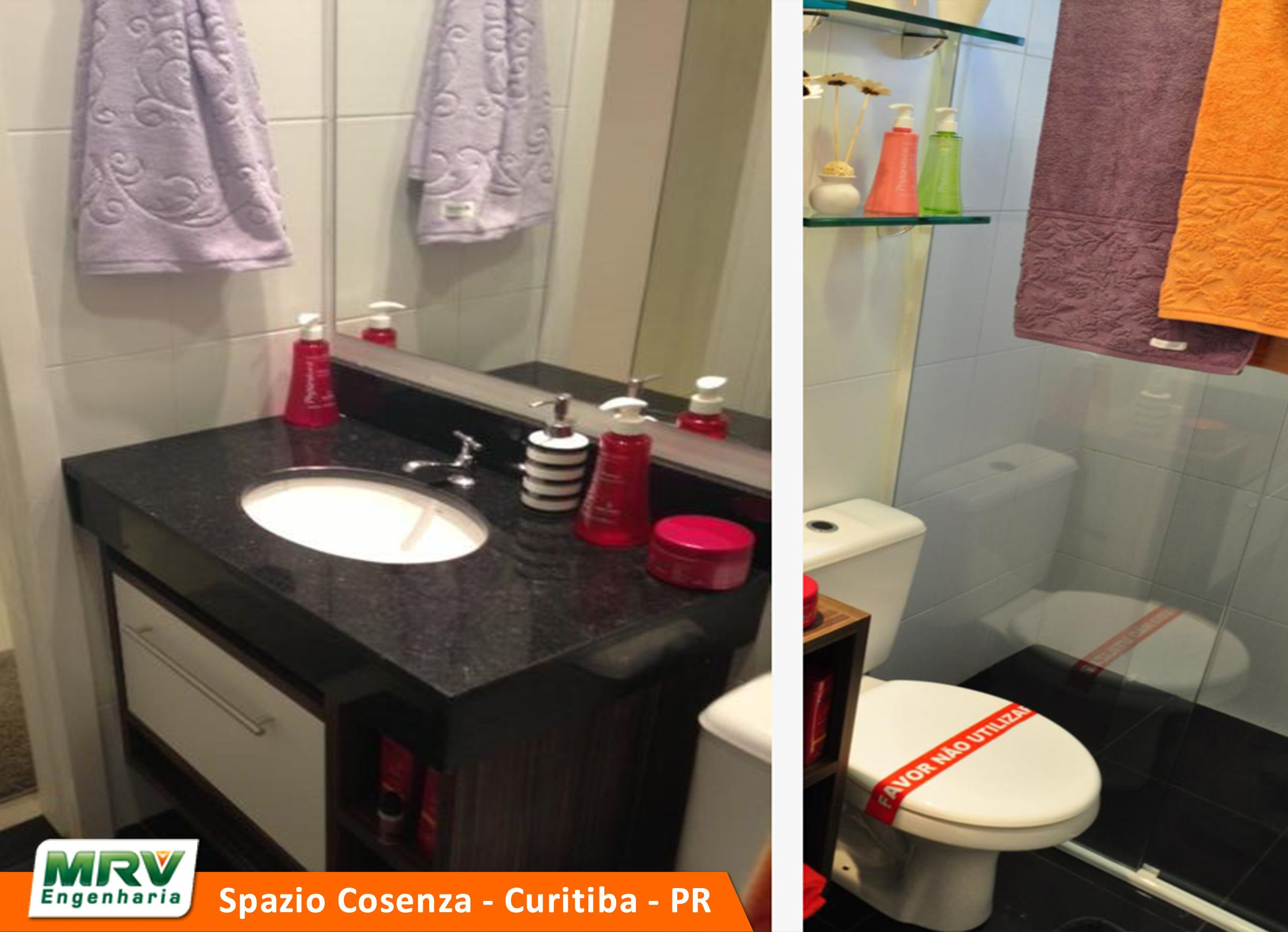 Apartamento Decorado do Spazio Cosenza, no bairro Pinheirinho Curitiba PR MRV Engenharia