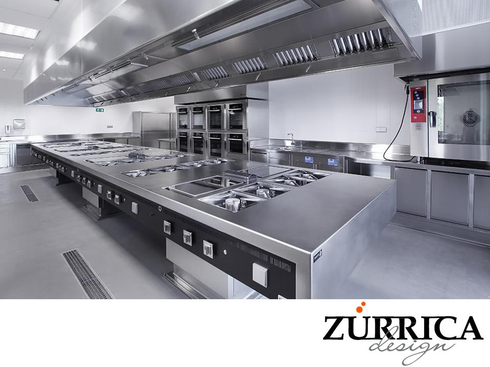 Las mejores cocinas industriales en zurrica design for Todo para cocinas industriales
