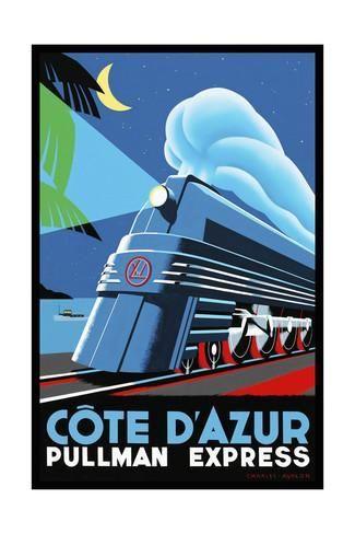 Travel Rail 0014 Giclée-Druck: