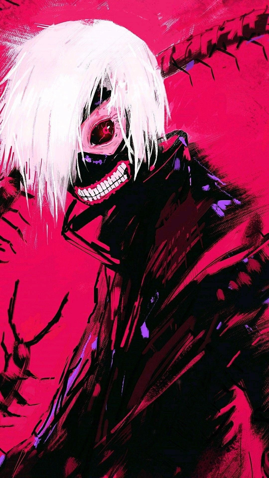 Kaneki ken from Tokyo Ghoul Anime Wallpaper Pinterest