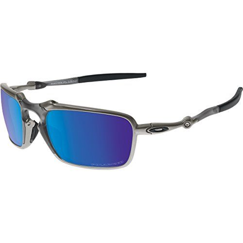 64dc70215393 Oakley Mens Badman OO602004 Polarized Iridium Rectangular Sunglasses Plasma  60 mm >>> Read more at the image link. (Amazon affiliate link)