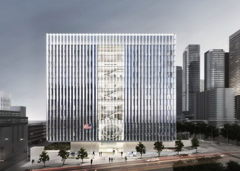 Work starts on SOM's Los Angeles Federal Courthouse